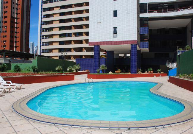 in Fortaleza - Porto de Iracema  - 2 bedroom apartment - with side balcony
